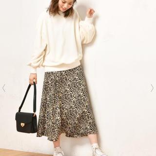ナチュラルクチュール(natural couture)のナチュラルクチュール レオパード柄スカート 🌼(ロングスカート)