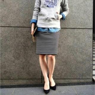 ドゥーズィエムクラス(DEUXIEME CLASSE)のドゥーズィエムクラス タイトスカート  美品(ひざ丈スカート)