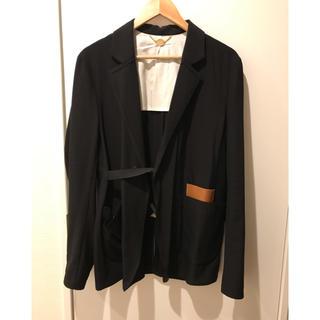 サンシー(SUNSEA)のsunsea  19ss ブラックジャケット(テーラードジャケット)