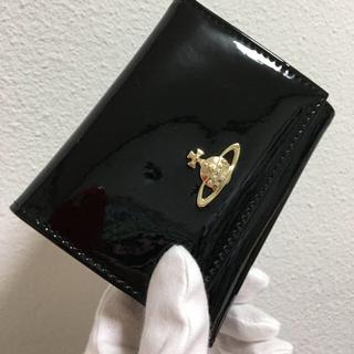 エナメル黒がま口財布❤️ヴィヴィアンウエストウッド❤️新品・未使用