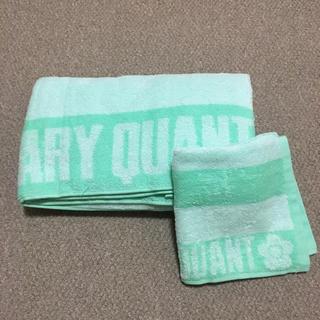 MARY QUANT - MARY QUANT/ビーチタオル/ハンドタオル/グリーン