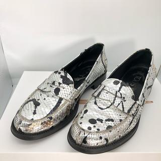 トッズ(TOD'S)のTOD'Sトッズ ペイントデザイン モカシン スリッポン 靴 正規品(スリッポン/モカシン)