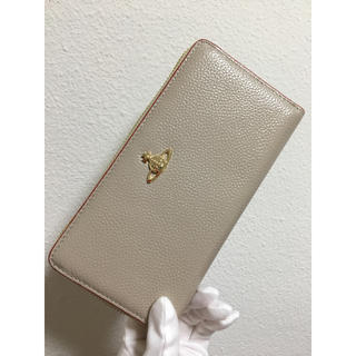 ヴィヴィアンウエストウッド(Vivienne Westwood)のベージュ長財布❤️ヴィヴィアンウエストウッド❤️新品・未使用(財布)