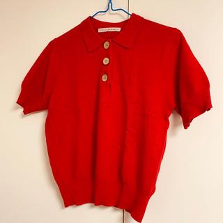 Dot&Stripes CHILDWOMAN - ニットポロシャツ
