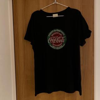 アングリッド(Ungrid)のungrid  コカコーラTシャツ(Tシャツ(半袖/袖なし))