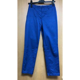 アルファキュービック(ALPHA CUBIC)のアルファキュービック カプリパンツ ブルー 61-87(クロップドパンツ)