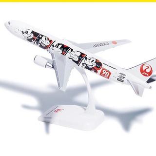 JAL(日本航空) - JAL B767-300 ミッキー登場90周年 特別塗装1/400ジェット模型