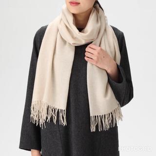 MUJI (無印良品) - ☆新品☆ 無印良品 カシミヤ 織りストール
