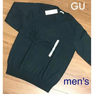 GU - GU / メンズ メンノブレンドVネックセーター