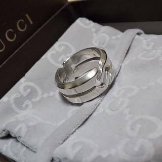 グッチ(Gucci)のGUCCI ノット リング ワイド 19号表記(リング(指輪))