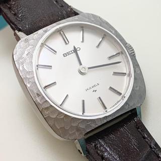 セイコー(SEIKO)のSEIKO セイコー 腕時計 14KWG無垢ケース レディース 14金無垢ケース(腕時計)
