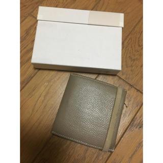 エンダースキーマ(Hender Scheme)のED ROBERT JUDSON 財布 ベージュ(折り財布)