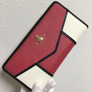 ヴィヴィアンウエストウッド(Vivienne Westwood)のヴィヴィアンウエストウッド❤️ピンク×ホワイト長財布❤️新品・未使用(財布)