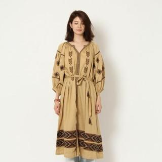 BABYLONE - BABYLON 刺繍羽織りワンピース