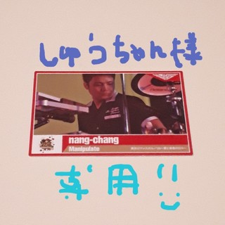 ポルノグラフィティ(ポルノグラフィティ)のポルノグラフィティチップス ランダムカード nang-chang(ミュージシャン)