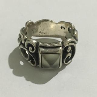 エムズコレクション(M's collection)のM'sコレクション 指輪  直径1.5センチ silver シルバー(リング(指輪))