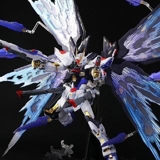 BANDAI - けさん様専用 ストライクフリーダムガンダム SOUL BLUE VER&光の翼
