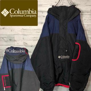 Columbia - 【超激レア】コロンビア☆90s刺繍アノラックマウンテンパーカー M0589