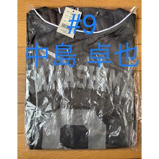ホッカイドウニホンハムファイターズ(北海道日本ハムファイターズ)のファイターズベースボールシャツ #9中島卓也 Lサイズ(その他)