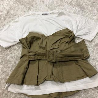 ジーナシス(JEANASIS)のTシャツ トップス(カットソー(半袖/袖なし))
