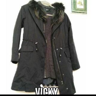 ビッキー(VICKY)のVICKY 薄手コート(トレンチコート)