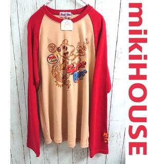 ミキハウス(mikihouse)のレア!MIKIHOUSE ミキハウス ロングスリーブ Tシャツ カットソー(Tシャツ/カットソー(七分/長袖))