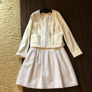 クイーンズコート(QUEENS COURT)のクイーンズコート☆ジャケット&スカート(スーツ)