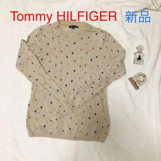 TOMMY HILFIGER - 新品 tommy HILFIGER トミー ニット ベージュ