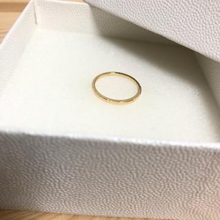 ユナイテッドアローズ(UNITED ARROWS)の特別sale UNITED ARROWS 新品未使用 デザインカットリング(リング(指輪))