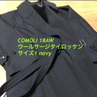 COMOLI - COMOLI 18AW タイロッケン ウールサージ