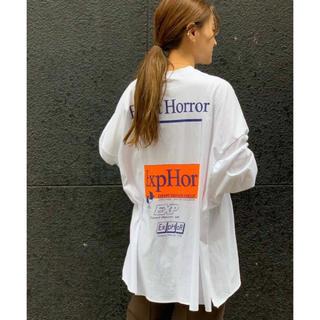 """トゥデイフル(TODAYFUL)のvia j """"Expert Horror""""ロングTシャツ (Tシャツ(長袖/七分))"""