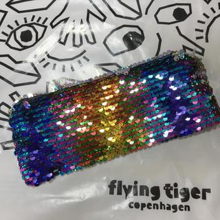 Flying Tiger Copenhagen - フライングタイガー コペンハーゲン スパンコール ペンケース 筆箱
