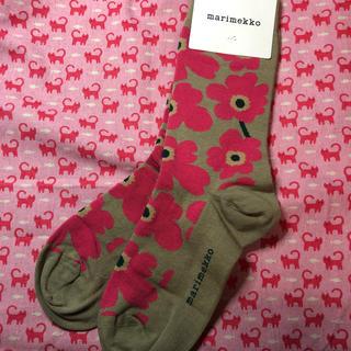 マリメッコ(marimekko)のマリメッコ (marimekko)⭐️靴下  新品未使用(その他)