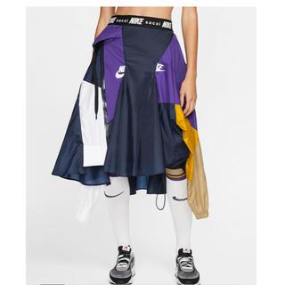 ナイキ(NIKE)のナイキ x sacai ウィメンズスカート(ロングスカート)