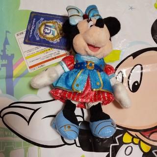 ミニーマウス(ミニーマウス)のディズニーシー15周年ミニーぬいぐるみバッジ(キャラクターグッズ)