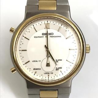 セイコー(SEIKO)のSEIKO セイコー EPUIPMENT FOR PROFESSONAL 腕時計(腕時計)