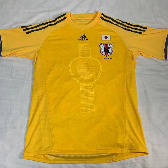 adidas(アディダス)のサッカー日本代表GKユニフォーム スポーツ/アウトドアのサッカー/フットサル(ウェア)の商品写真