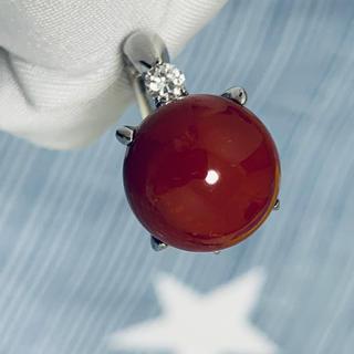 プラチナ血赤珊瑚指輪(リング(指輪))