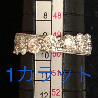 1カラット ダイヤモンド リング 10号 ダイヤモンド リング 1ct プラチナ(リング(指輪))