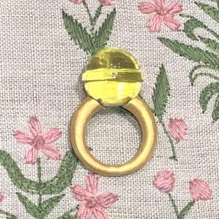 ★ジェムパレス ロリポップ リング レモンクォーツ(リング(指輪))