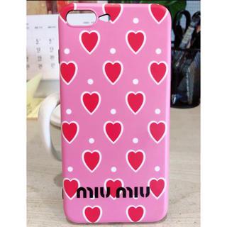 ミュウミュウ(miumiu)のiPhoneケース(iPhoneケース)