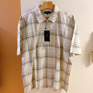 レイジブルー(RAGEBLUE)のZIPFIVE ハーフジップシャツ リングジップ(シャツ)