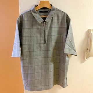 レイジブルー(RAGEBLUE)のComfirm ハーフジップシャツ メンズ トップス(シャツ)