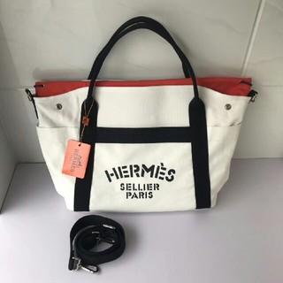 Hermes - 新品未使用 HERMES エルメス トートバッグ ブラック