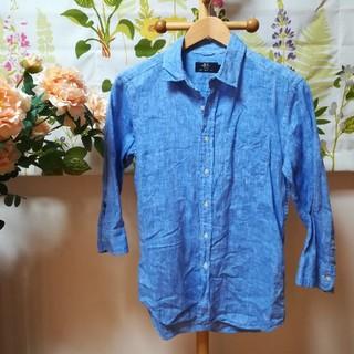 レイジブルー(RAGEBLUE)の✨DAILY STANDARD STYLE RAGEBLUE 青色リネンシャツS(シャツ)