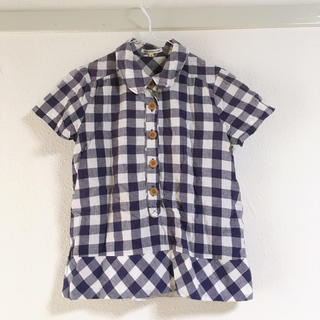 サマンサモスモス(SM2)の(77)ギンガムチェックシャツ(シャツ/ブラウス(半袖/袖なし))