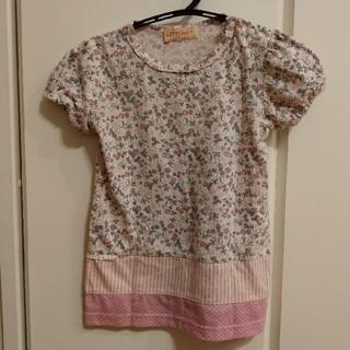 シマムラ(しまむら)のしまむら 花柄 Tシャツ 95(Tシャツ/カットソー)