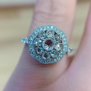 PTローズカットダイヤ指輪(リング(指輪))