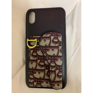 ディオール(Dior)のディオール iPhone10sMAX 大幅値下げ!確実正規品。保証します。(iPhoneケース)