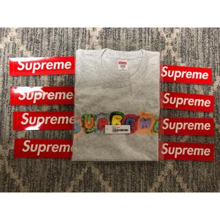 シュプリーム(Supreme)のSupreme  pillows Tee アッシュグレー XL(Tシャツ/カットソー(半袖/袖なし))